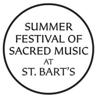 DONATIONS Summer Festival of Sacred Music